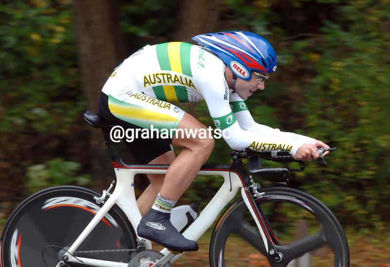 BEN DAY AT THE 2007 WORLD CYCLING CHAMPIONSHIPS