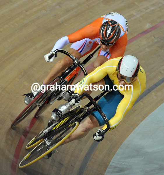 MARK FRENCH AND THEO BOS AT THE 2008 OLYMPIC GAMES