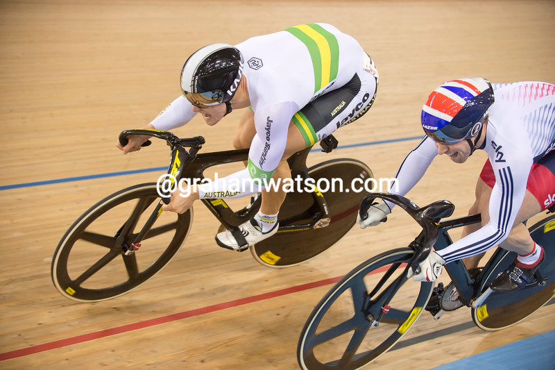 Max Glaetzer in the mens sprint at the 2012 World Cup