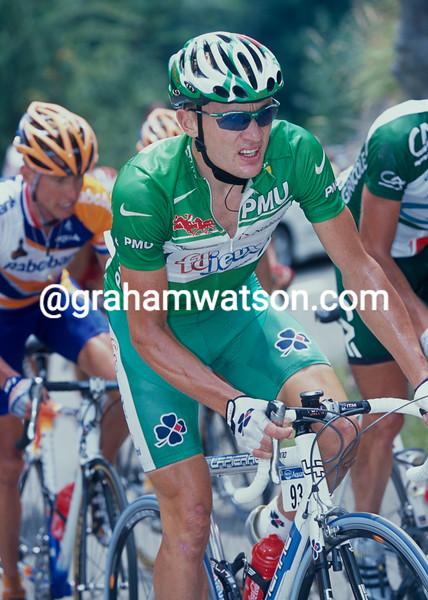 Baden Cooke in the 2003 Tour de France