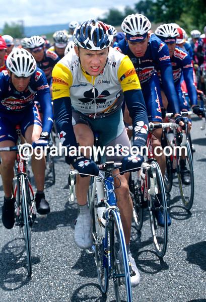 Baden Cooke in the 2002 Tour Mediterranean