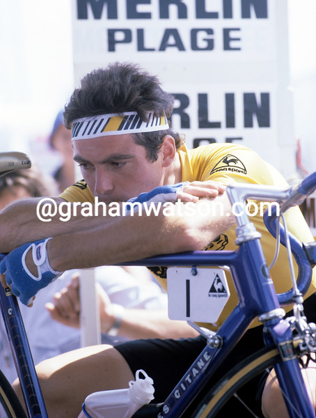 Bernard Hinault in the 1981 Tour de France