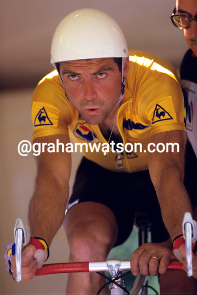 Bernard Hinault in the 1985 Tour de France
