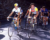 BERNARD HINAULT AND CLAUDE CRIQUELION IN THE 1984 TOUR OF LOMBARDY
