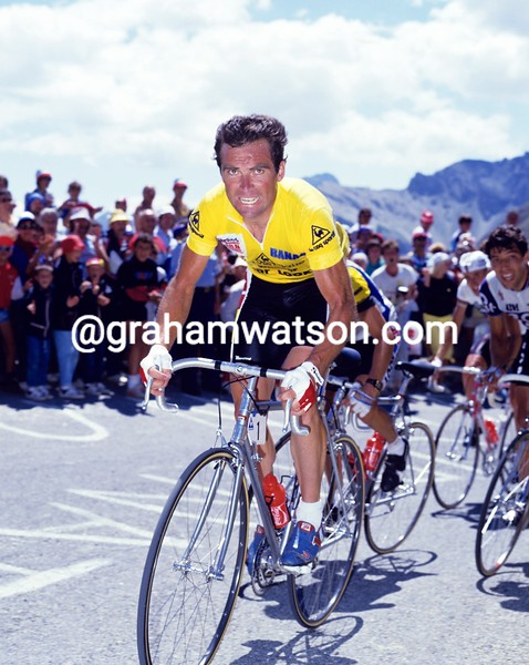 Bernard Hinault in the 1986 Tour de France
