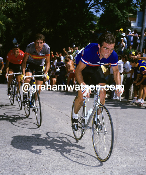 Bernard Hinault in the 1984 World Championships