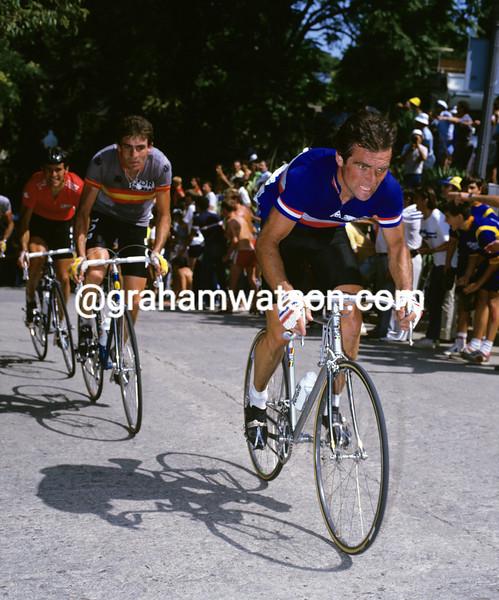 Bernard Hinault in the 1984 World Championships
