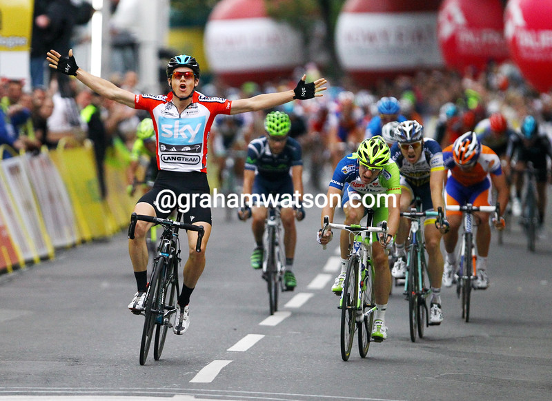 Ben Swift wins Stage Five of the 2012 Tour of Poland