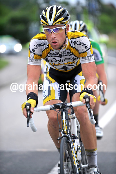 BERNHARD EISEL ON STAGE SEVEN OF THE 2009 TOUR OF SWITZERLAND