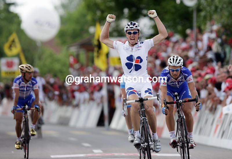 Bernhard Eisel in the 2005 Tour de Suisse
