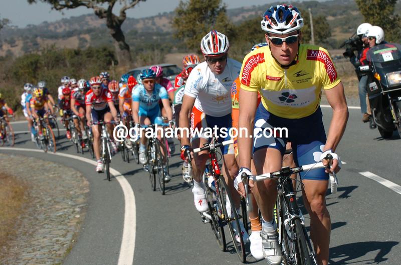Bernard Eisel in the 2005 Volta a Algarve