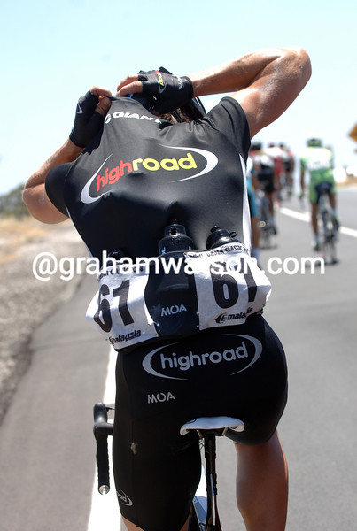BERNHARD EISEL ON STAGE ONE OF THE TOUR DOWN UNDER