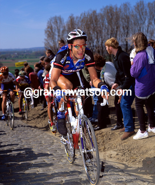 George Hincapie in the 1997 Tour of Flanders