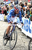 GEORGE HINCAPIE IN THE 2010 TOUR OF FLANDERS