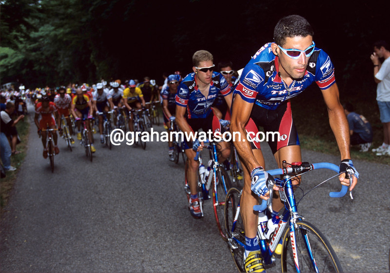 George Hincapie in the 1999 Tour de France