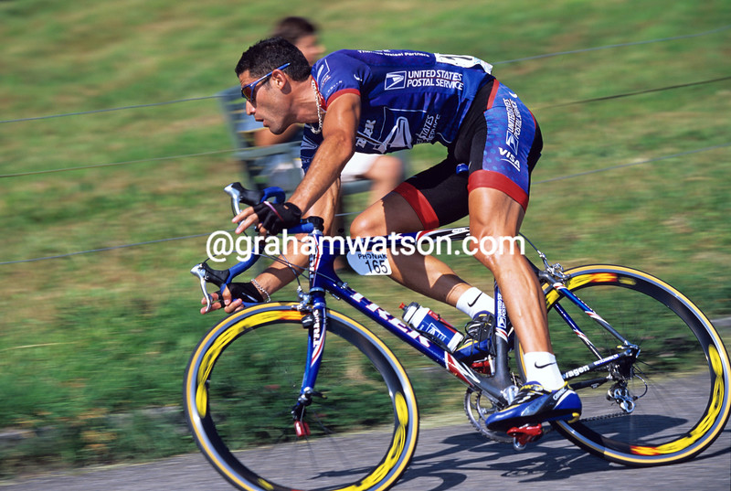 George Hincapie in the 2002 Zurich Championship