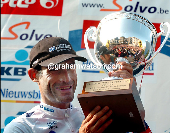 GEORGE HINCAPIE WINS THE 2004 3 DAYS OF DEPANNE