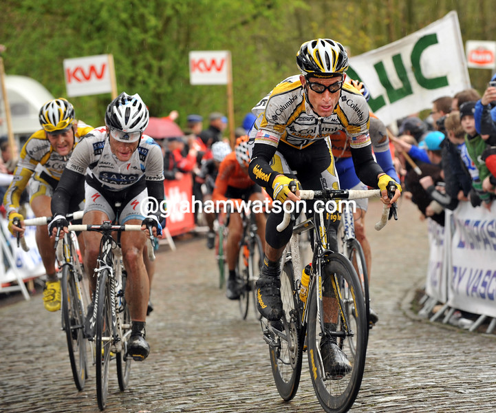 GEORGE HINCAPIE IN THE 2009 GHENT-WEVELGEM