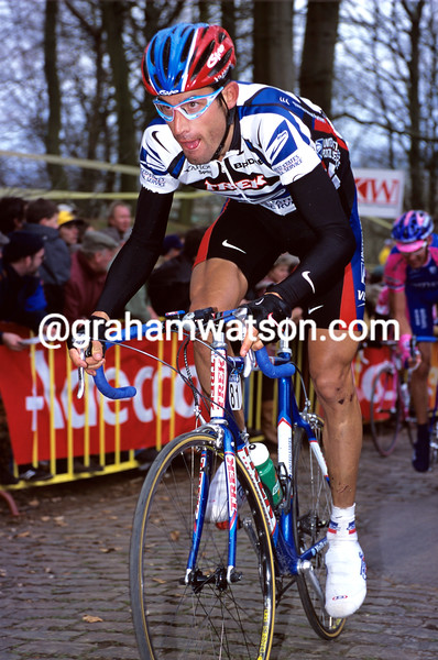 George Hincapie in the 2000 Ghent-Wevelgem