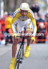 GEORGE HINCAPIE IN THE PROLOGUE OF THE 2009 TOUR OF CALIFORNIA
