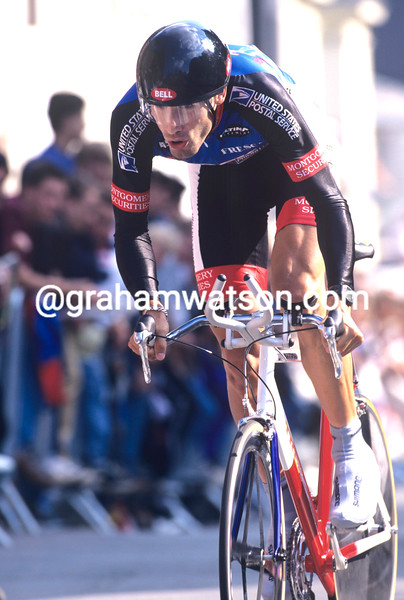 GEORGE HINCAPIE IN THE 1997 TOUR DE FRANCE