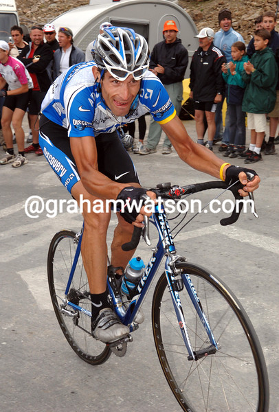 George Hincapie in the 2005 Tour de France
