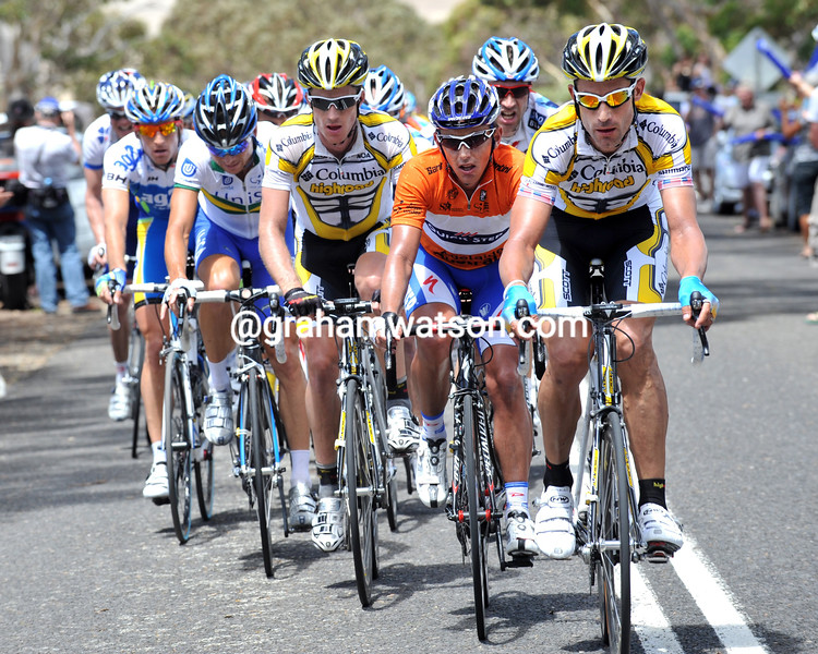 GEORGE HINCAPIE ON STAGE THREE OF THE TOUR DOWN UNDER