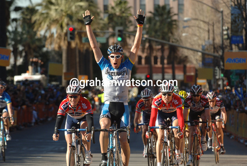 George Hincapie wins a stage of the 2006 Tour of California