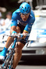 GEORGE HINCAPIE IN ACTION ON STAGE NINETEEN OF THE 2006 TOUR DE FRANCE, TO LE CREUSOT