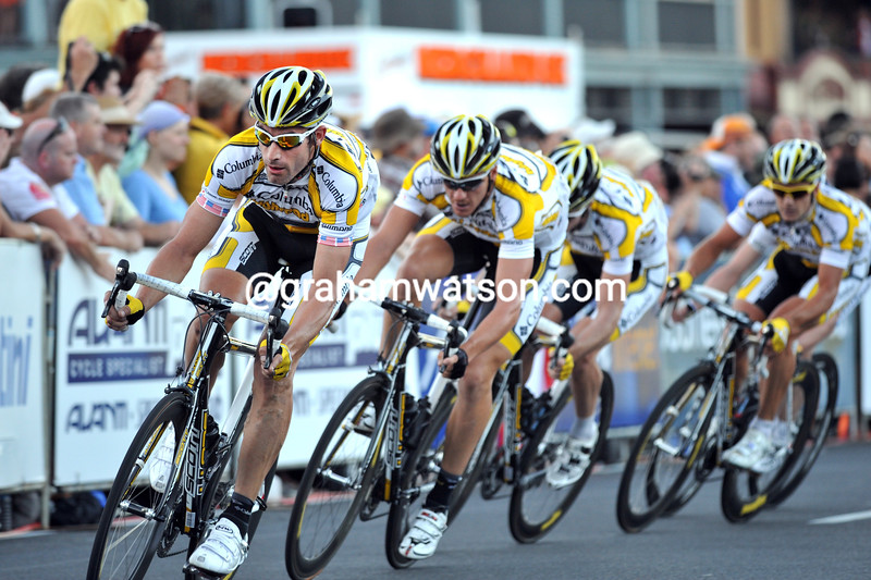 george hincapie IN THE TOUR DOWN UNDER CANCER COUNCIL CLASSIC