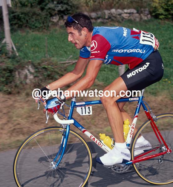 George Hincapie in the 1996 Vuelta a España