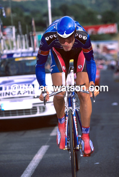 George Hincapie in the 1999 Tour de France
