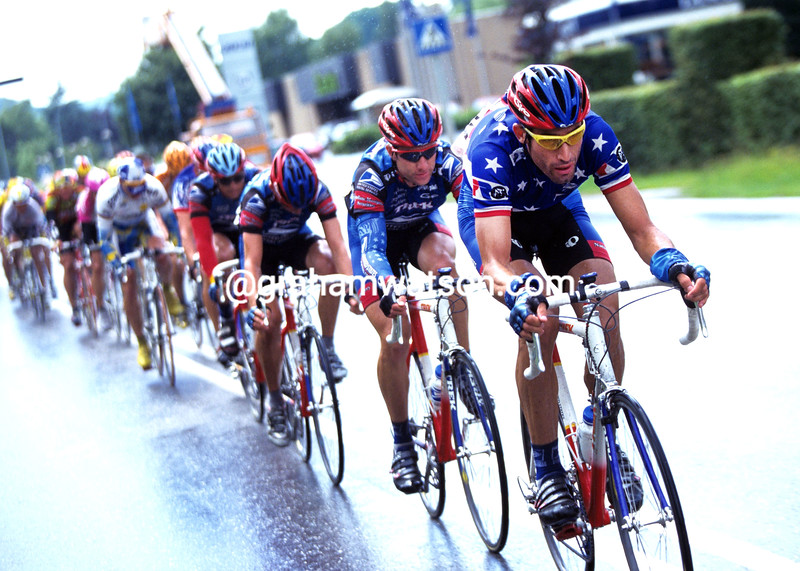 GEORGE HINCAPIE IN THE 1998 TOUR OF LUXEMBOURG