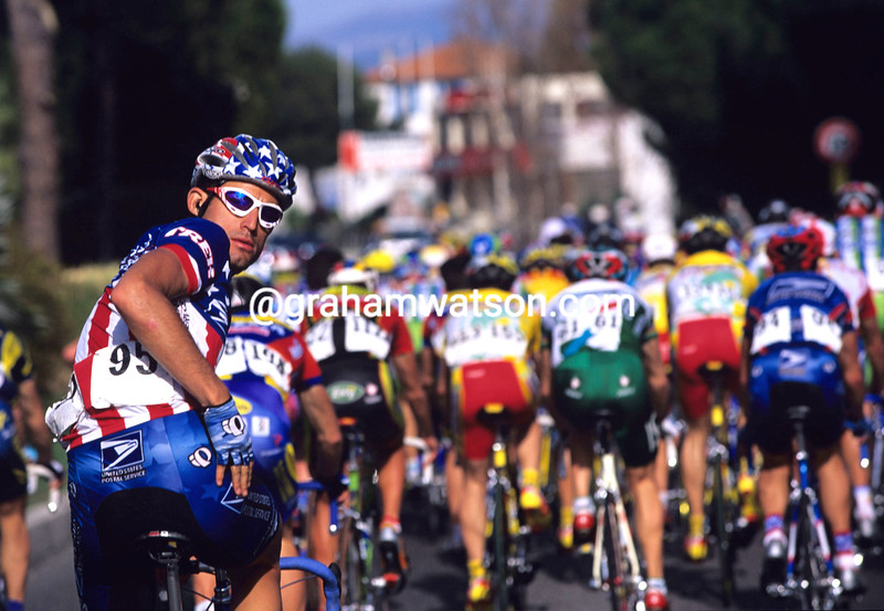George Hincapie in the 1998 Ruta del Sol