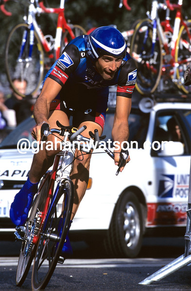 George Hincapie in the 1998 Paris-Nice