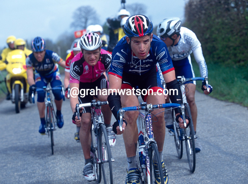 George Hincapie in the 1999 Amstel Gold Race