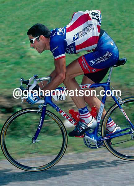 George Hincapie in the 1998 Tour de France