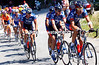 GEORGE HINCAPIE AT THE FRONT DURING STAGE EIGHT OF THE 2003 TOUR DE FRANCE