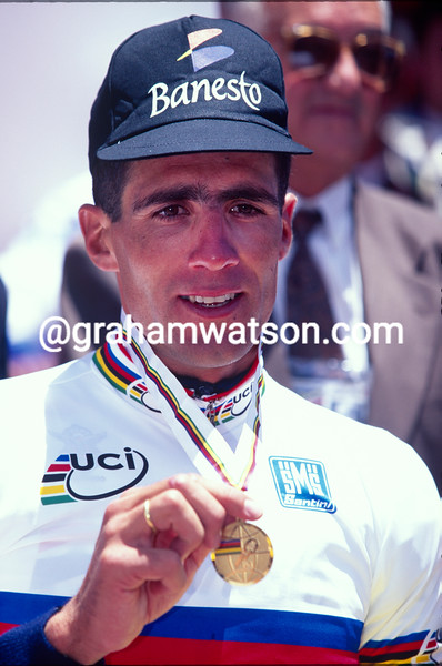 Miguel Indurain in the 1995 World Championships