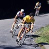 Miguel Indurain in the 1985 Tour of Spain