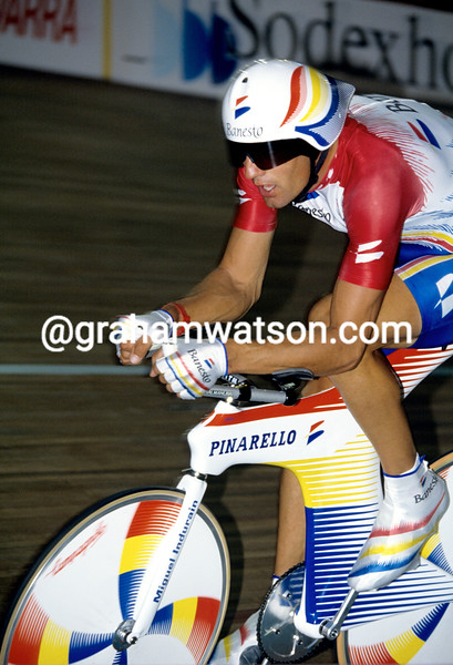 Miguel Indurain in the 1993 World Hour-Record attempt