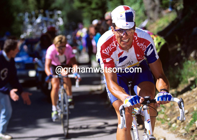 MIGUEL INDURAIN IN THE 1994 GIRO D'ITALIA