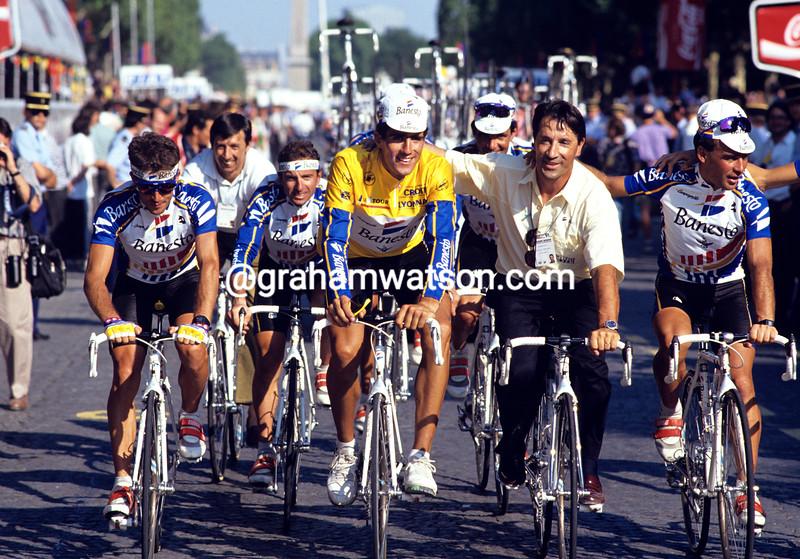 MIGUEL INDURAIN IN THE 1992 TOUR DE FRANCE