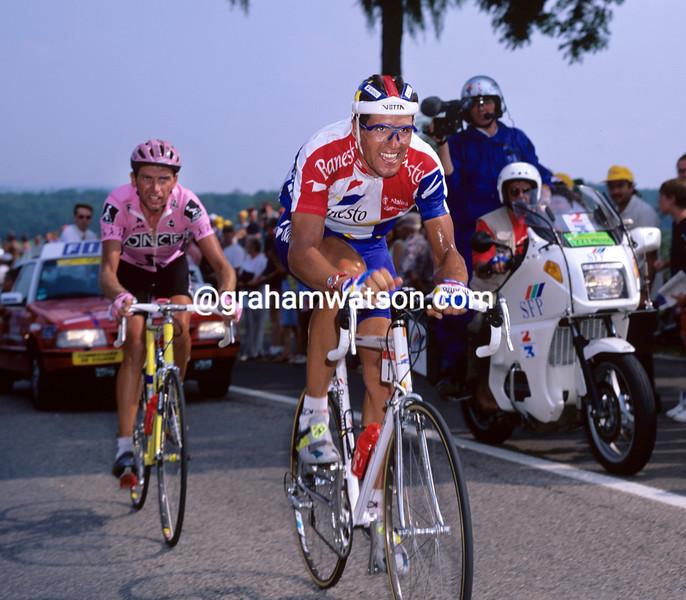 MIGUEL INDURAIN IN THE 1995 TOUR DE FRANCE