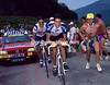 Miguel Indurain and Claudio Chiappucci in the 1991 Tour de France