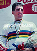 Miguel Indurain in the 1995 World Time TRial championship in Colombia
