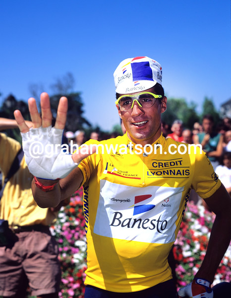 Miguel Indurain in the 1995 Tour de France