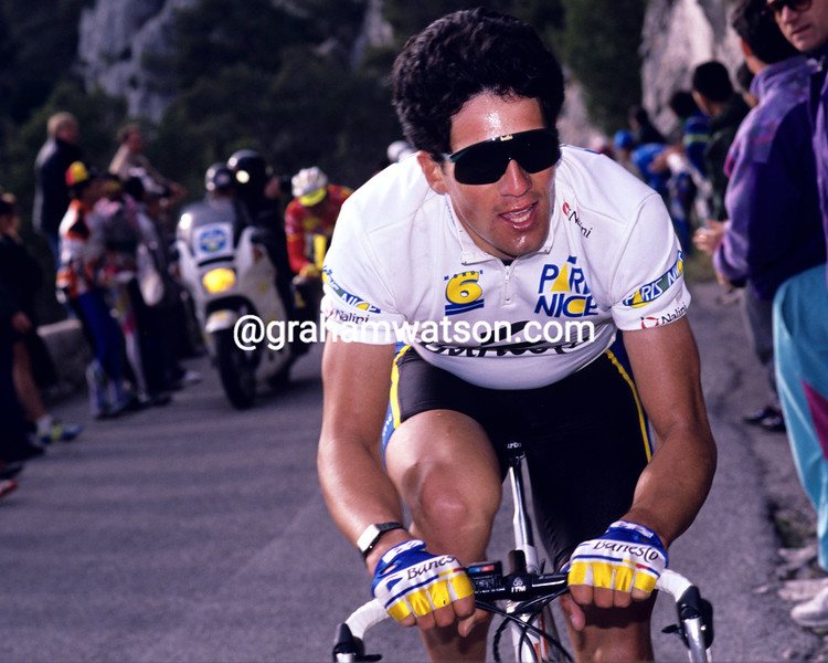 Miguel Indurain in the 1989 Paris-Nice