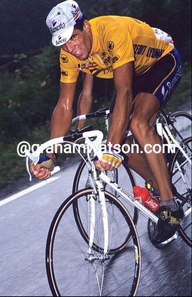 MIGUEL INDURAIN IN THE 1991 TOUR DE FRANCE