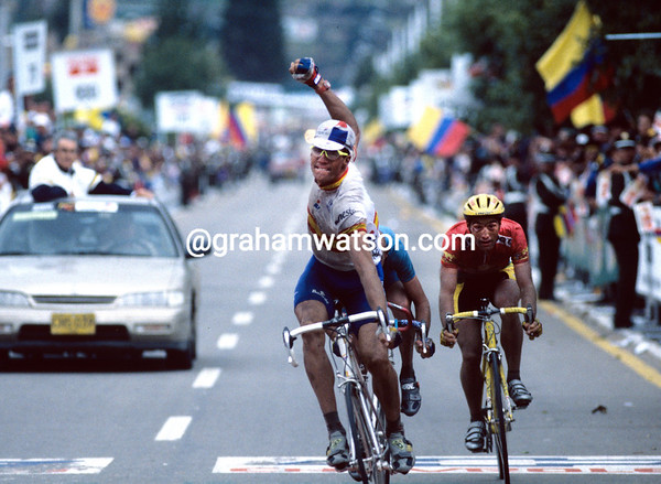 MIGUEL INDURAIN IN THE 1995 WWORLD CHAMPIONSHIPS
